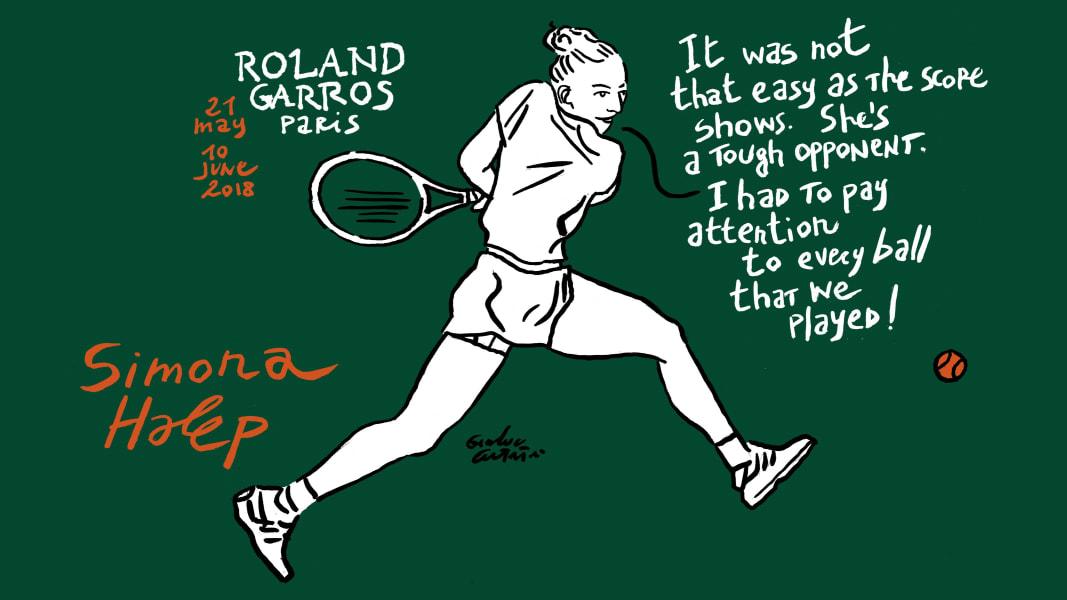 Simona Halep French Open Roland Garros