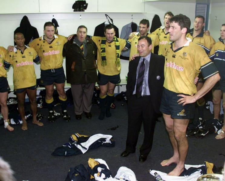 Eddie Jones profile Australia Bledisloe Cup dressing room