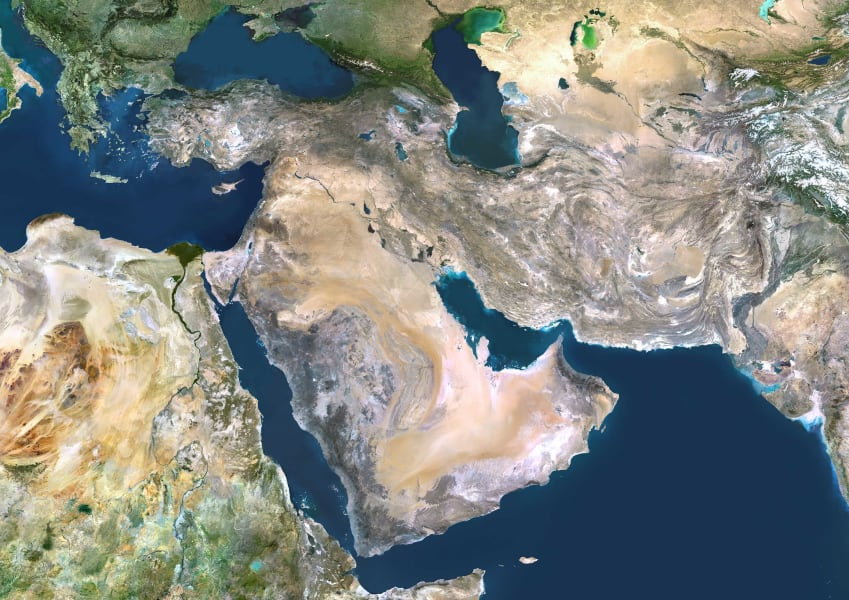 17 middle east water