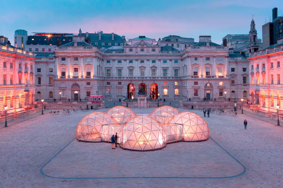 pollution pods somerset house