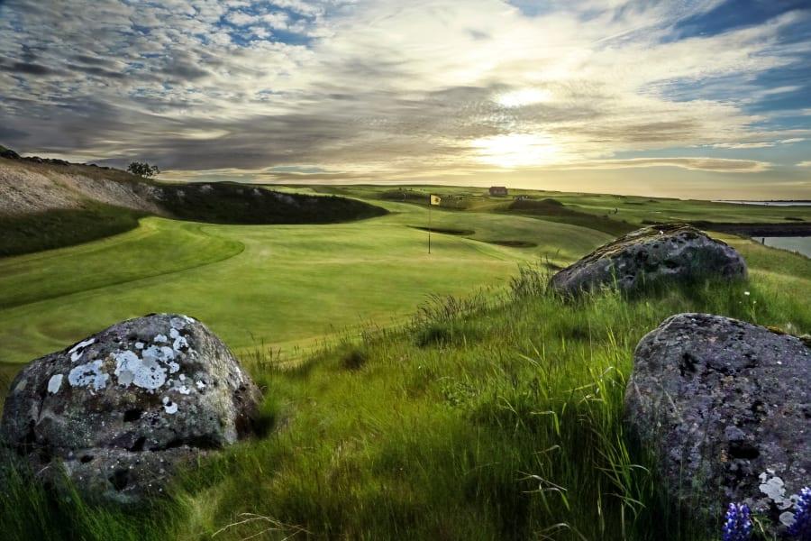 iceland golf keilir 13th hole
