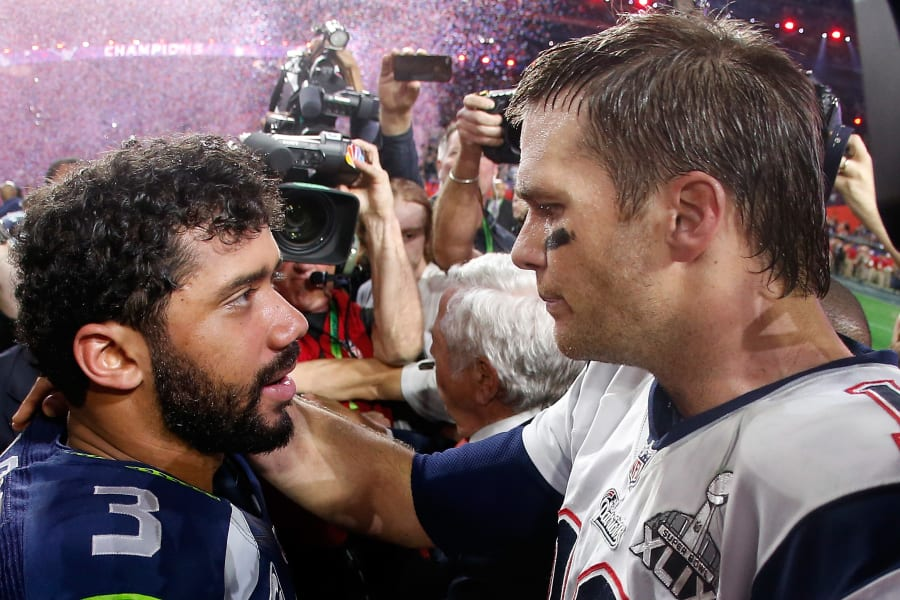Tom Brady Russell Wilson NFL highest paid