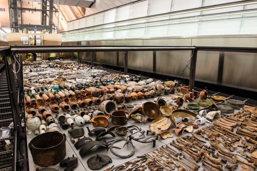 amsterdam excavation display 1