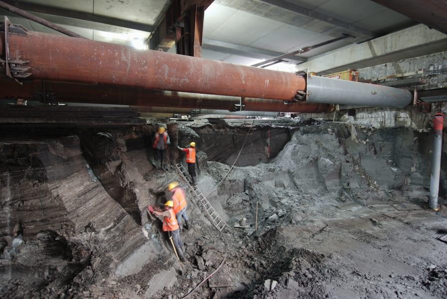 amsterdam excavation rokin