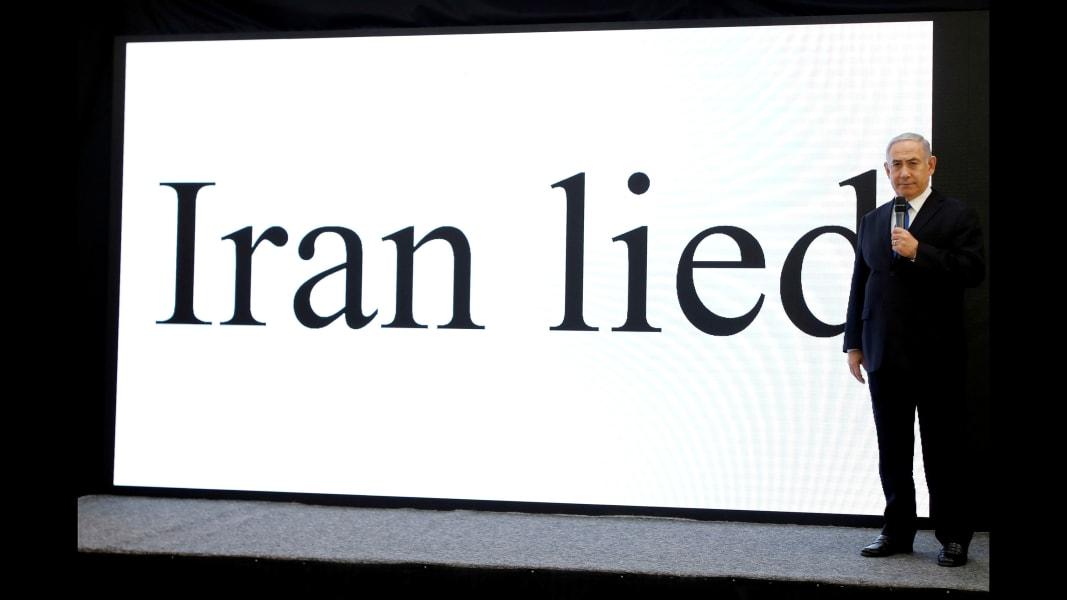 01 netanyahu iran documents FILE