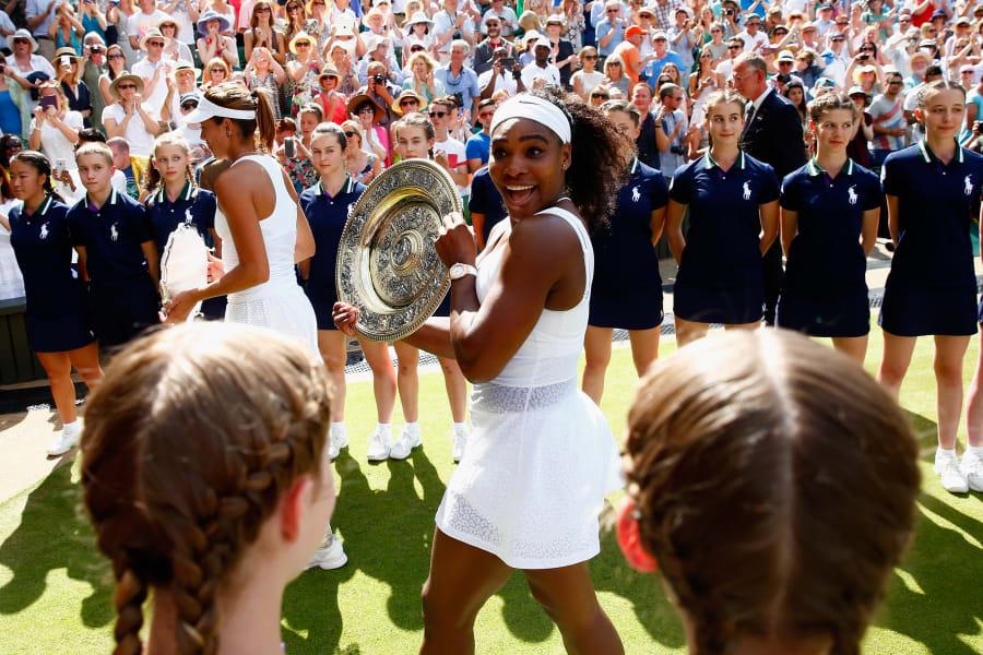 Serena Williams 2015 Wimbledon