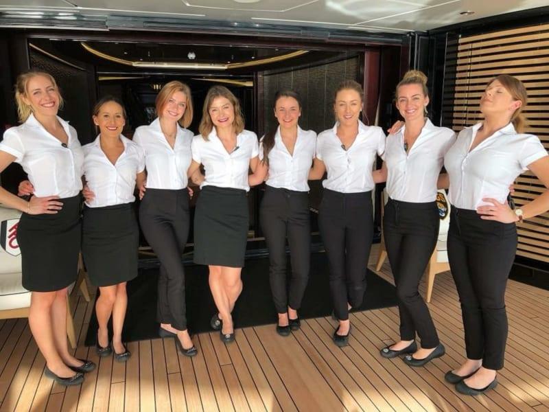 Chelsea Nielsen superyacht stewardess