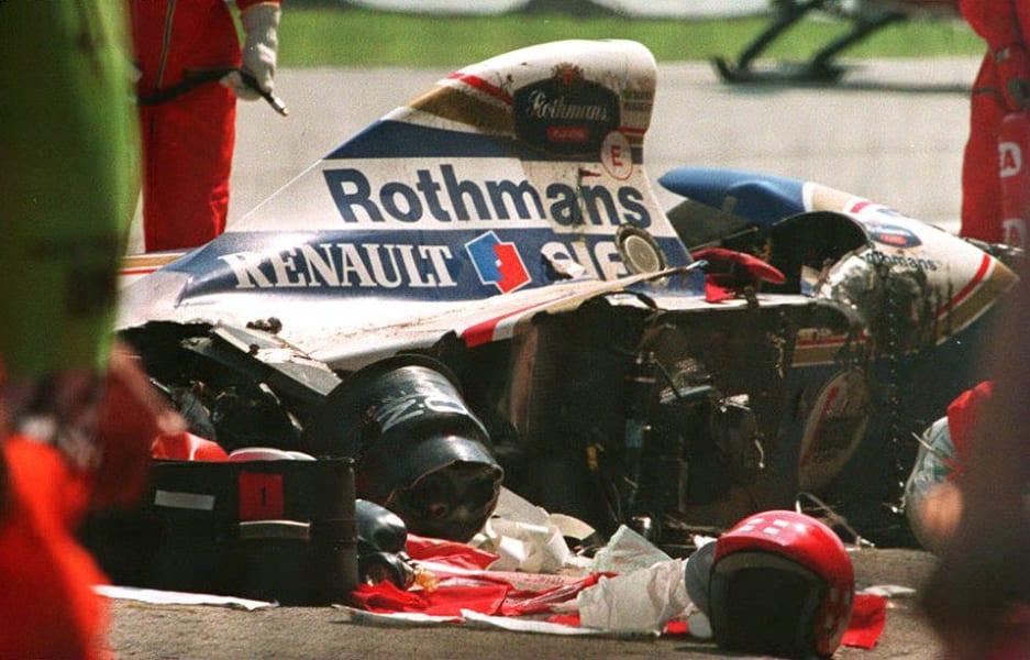 senna crash 1994