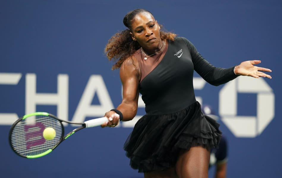 Serena Williams US Open outfit tennis