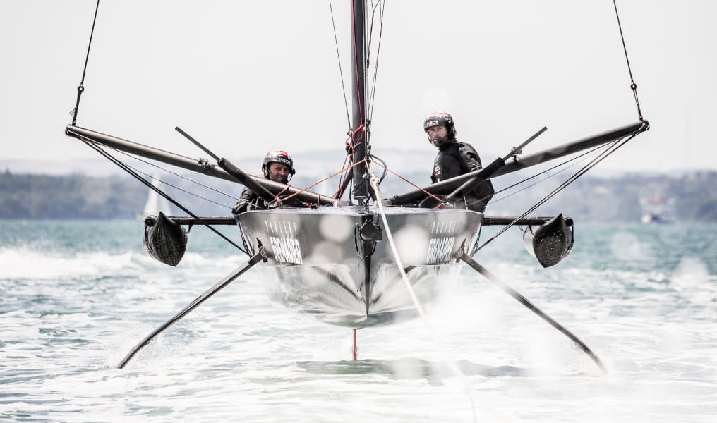 Americas Cup Ineos test boat