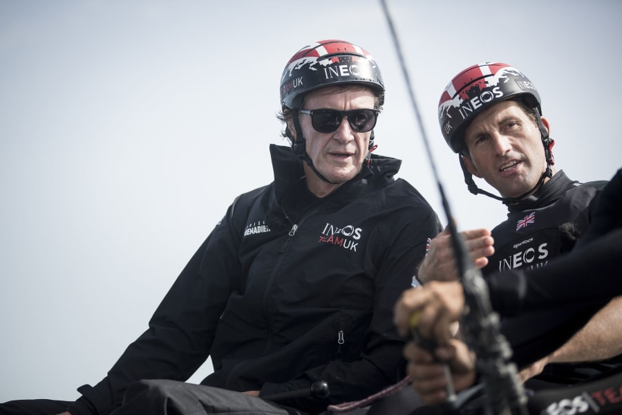 America's Cup Ineos Jim Ratcliffe Ben Ainslie