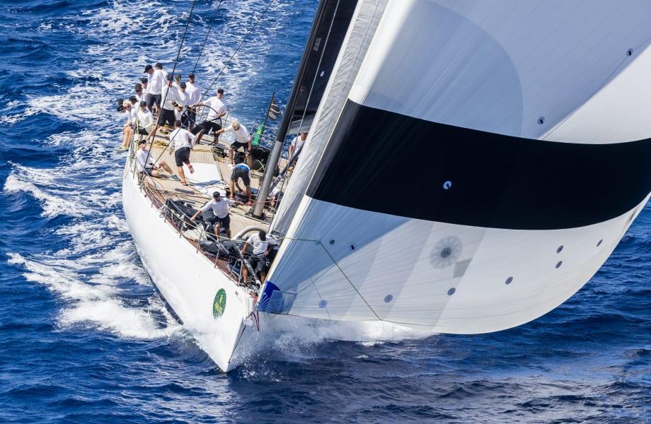Maxi Yacht Rolex Cup Sardinia allycento Galateia