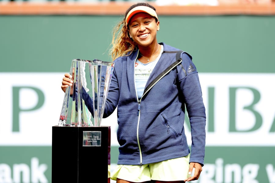 Naomi Osaka 2018 Paribas Open