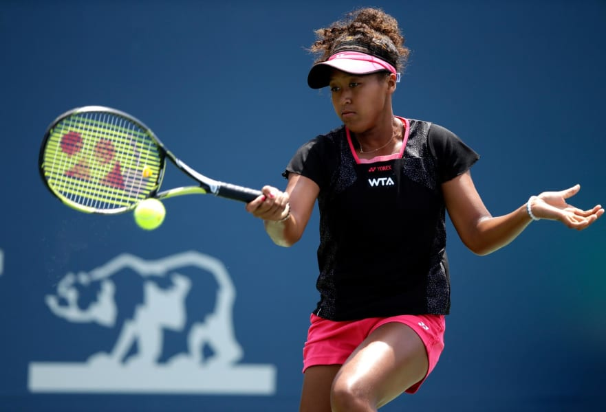 Naomi Osaka 2014 Bank of the West