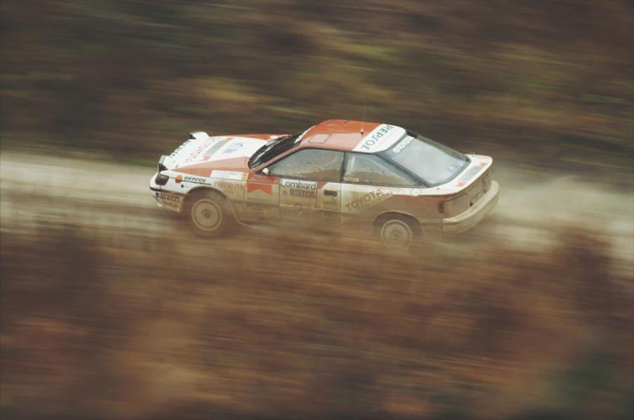 Toyota Rally Car 1990