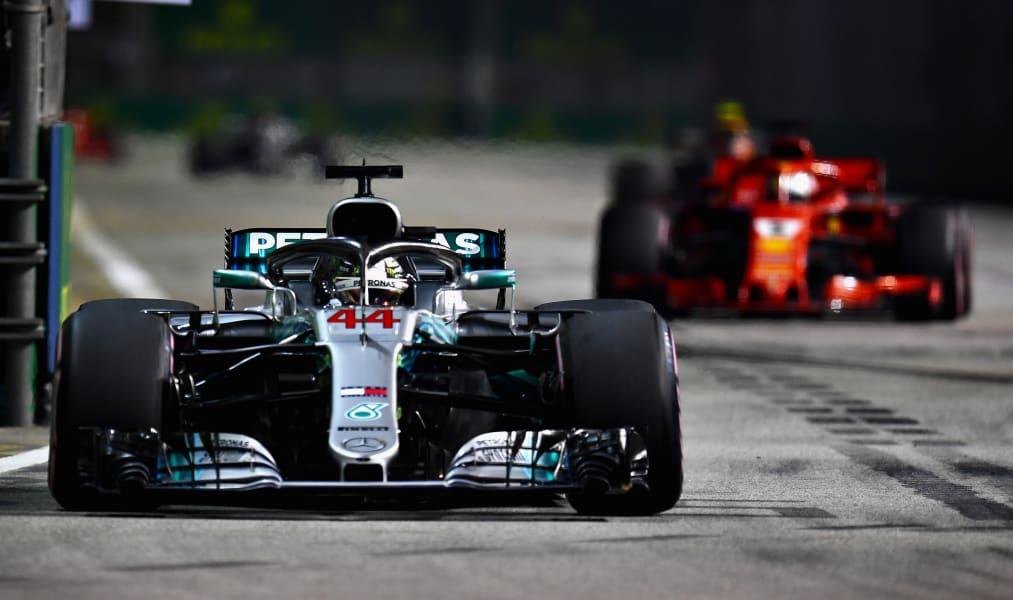 Hamilton leads