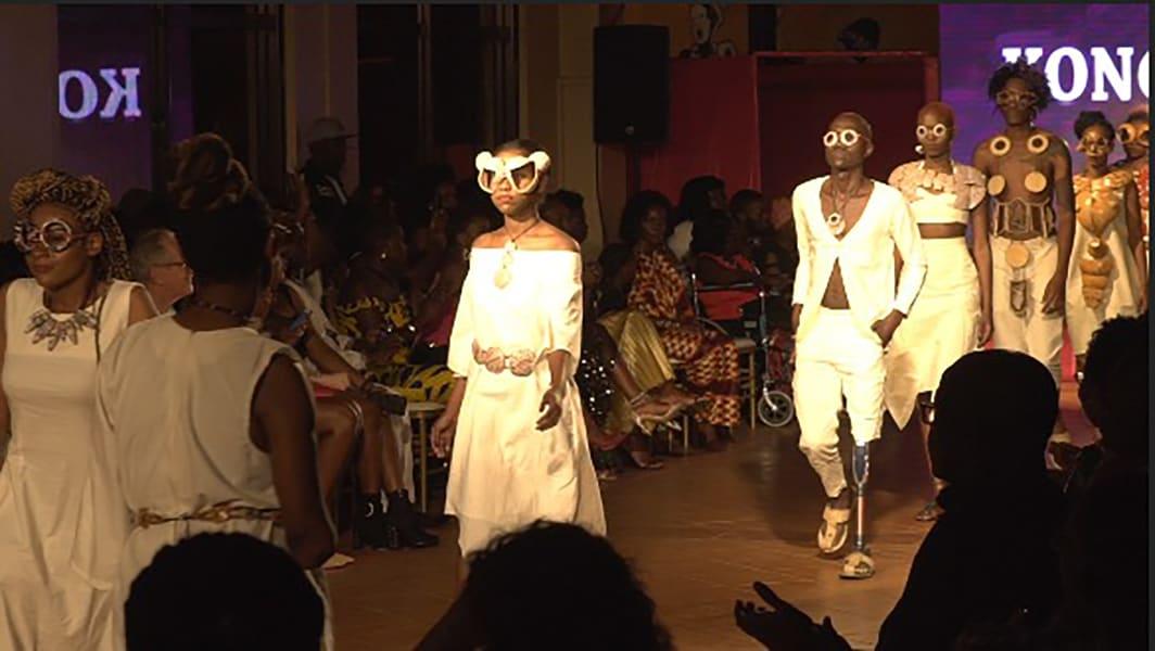 Uganda hot pink catwalk show 05