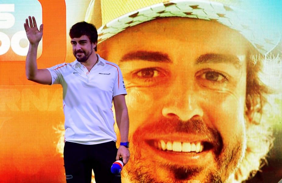 Alonso goodbye