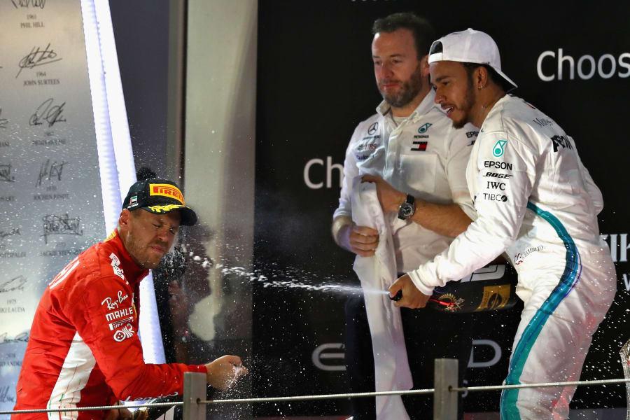 Hamilton champagne