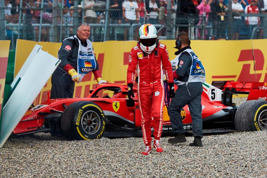 vettel german grand prix crash