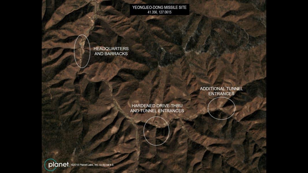 03 North Korea missile base