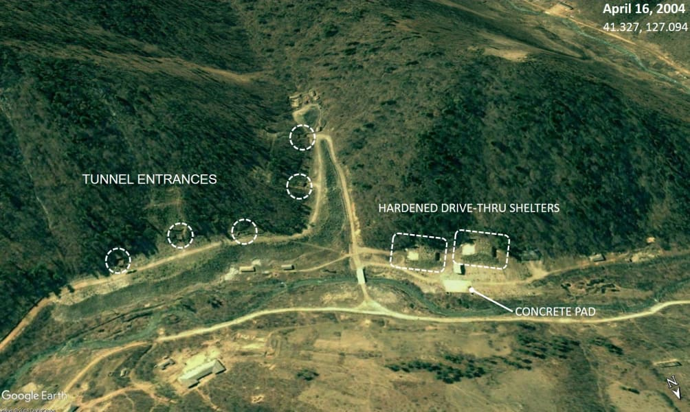 04 North Korea missile base
