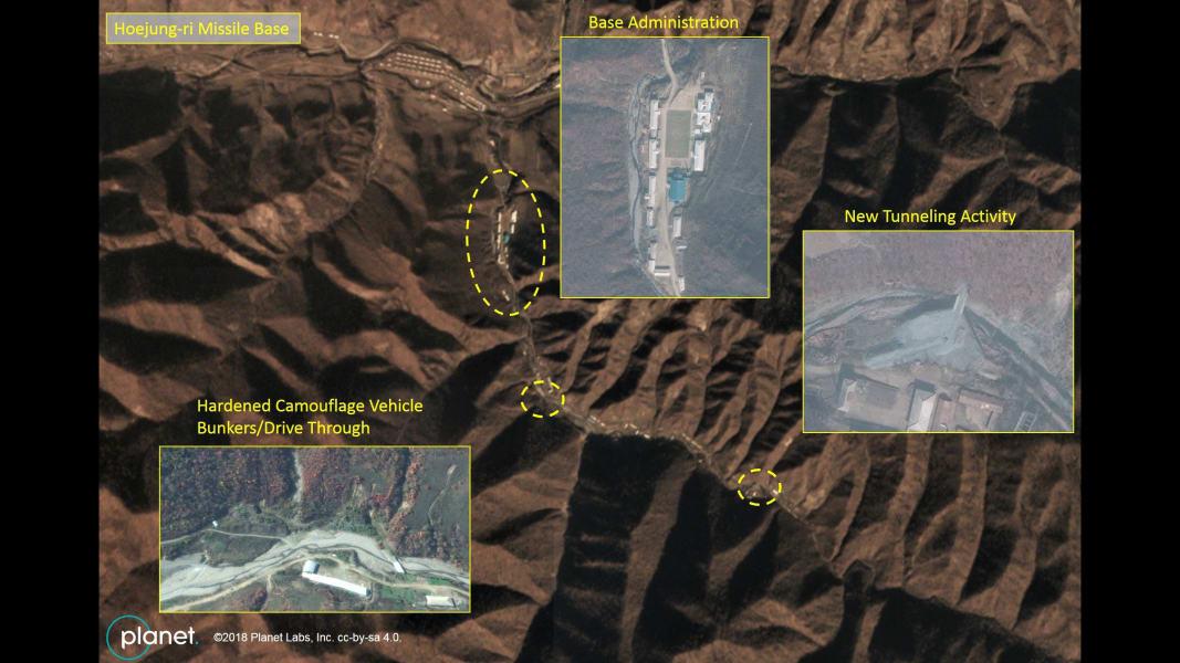 16 North Korea missile base