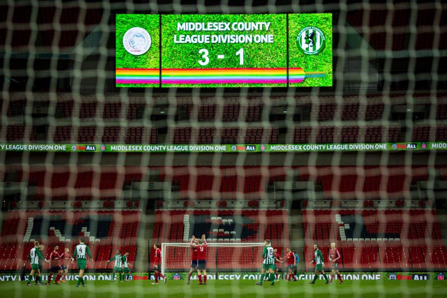 stonewall wembley score