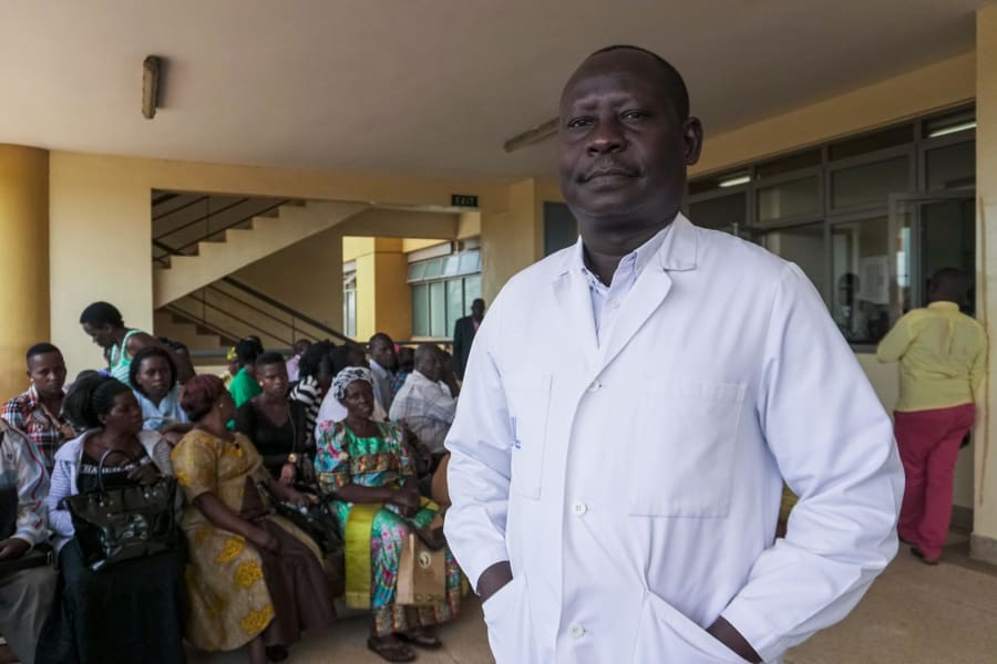 Uganda malaria app