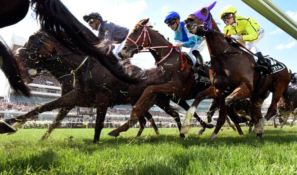 winning post Melbourne Cup