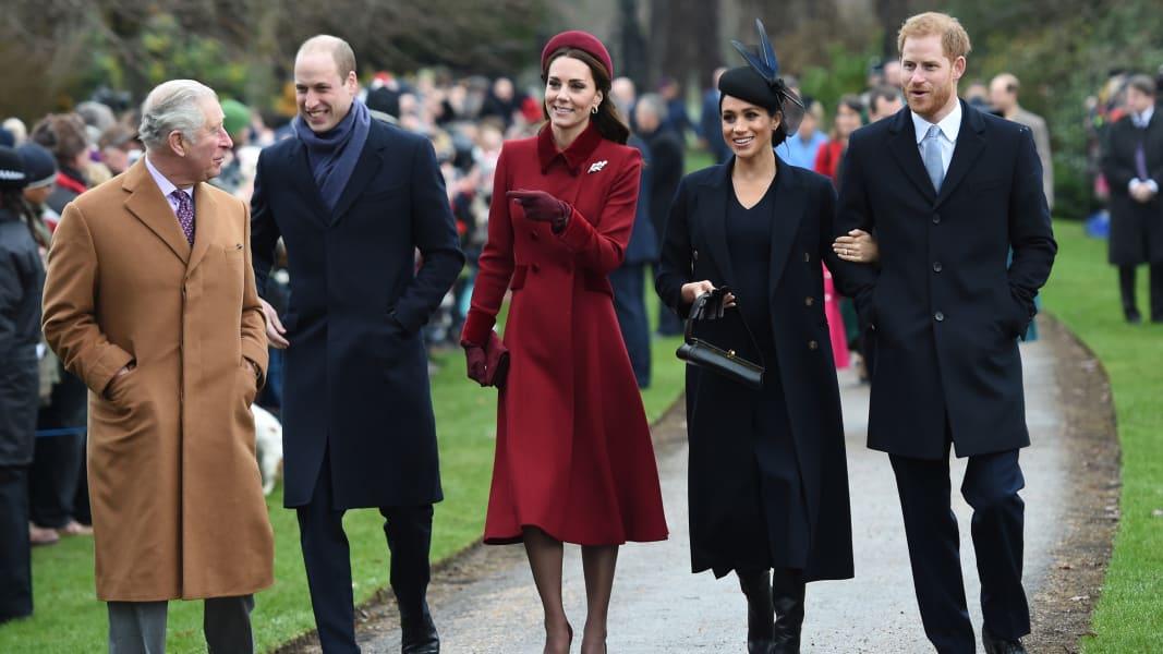 01 british royals xmas RESTRICTED