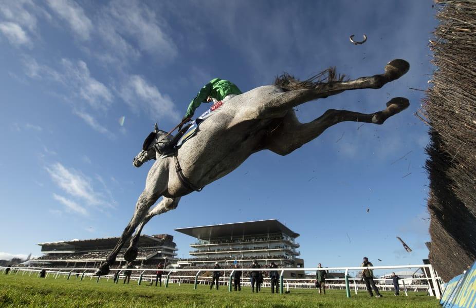 Edward Whitaker Racing Post horseshoe Cheltenham