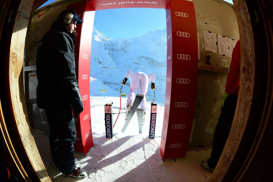 Wengen downhill skiing World Cup 12