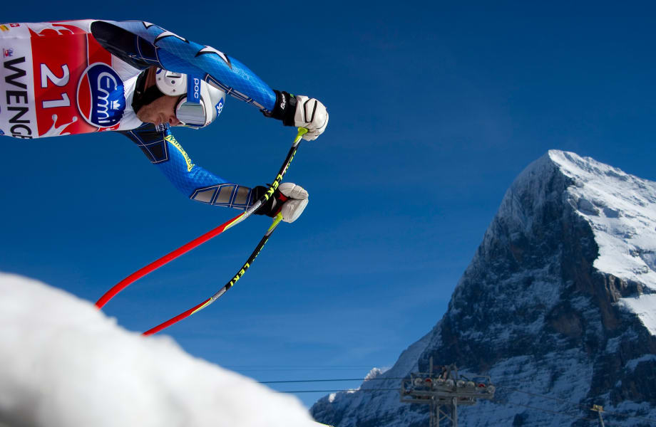 Wengen downhill skiing World Cup 14