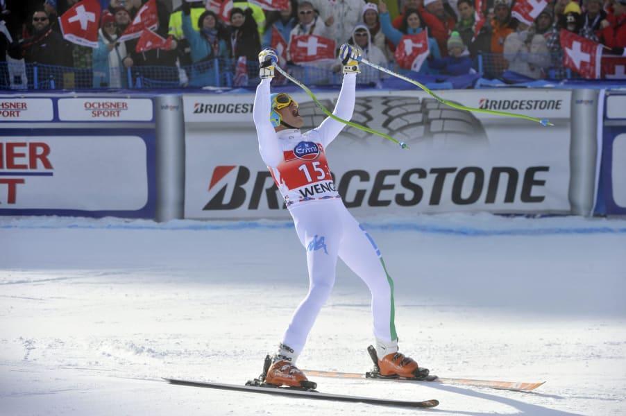 Wengen downhill skiing World Cup Innerhofer