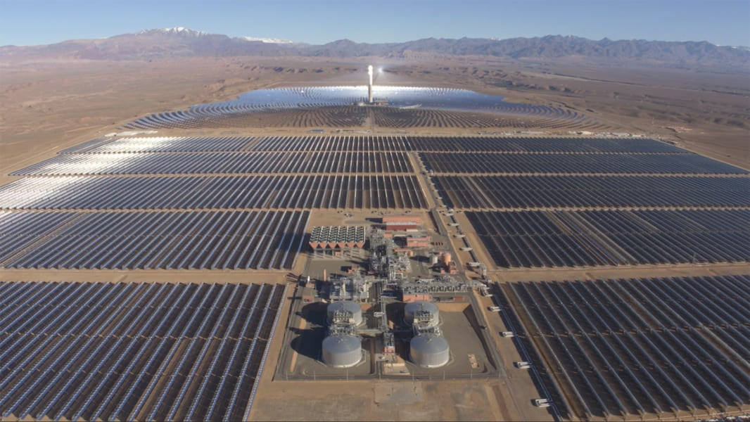 Morocco solar farm