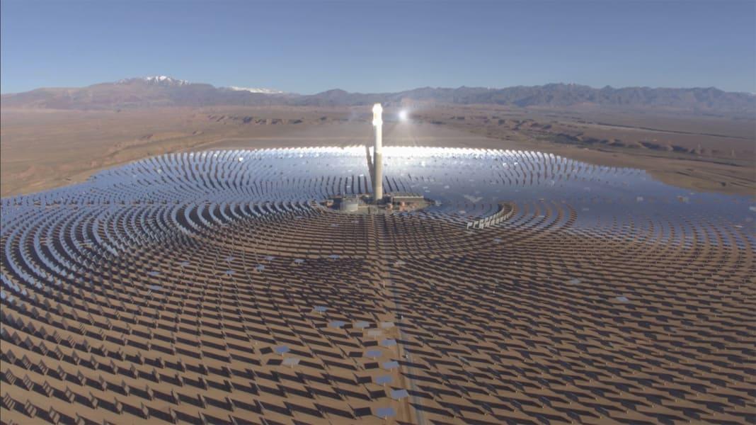 solar farm morocco