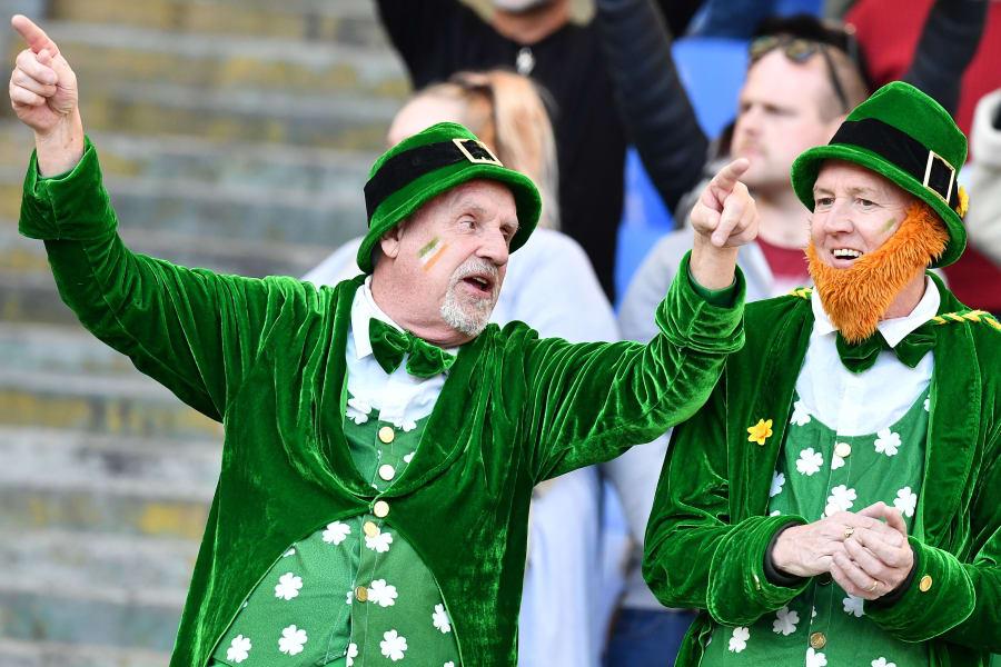 Six Nations Ireland fans