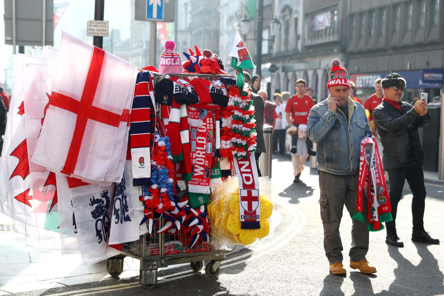 Six Nations merchandise vendor