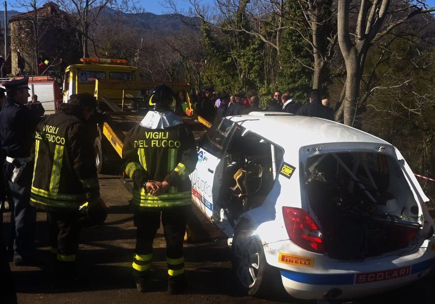 robert kubica rally crash