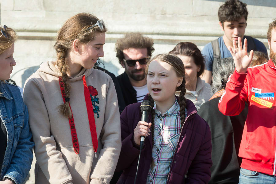 09_climate strike_Greta Thunberg