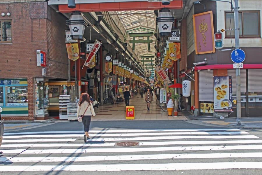 Rugby World Cup Travel Guide Osaka Tenjimbashi-suji entrance