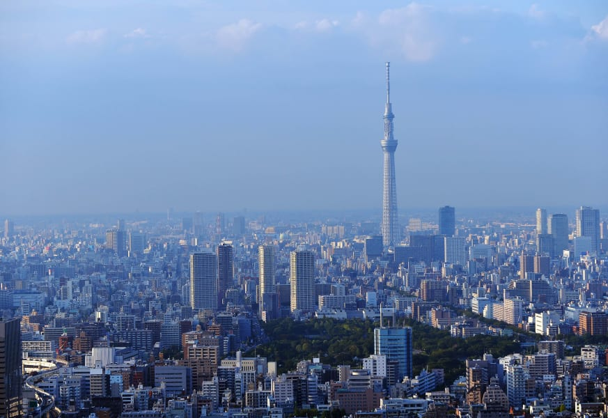 Rugby World Cup Travel Guide Tokyo Skytree