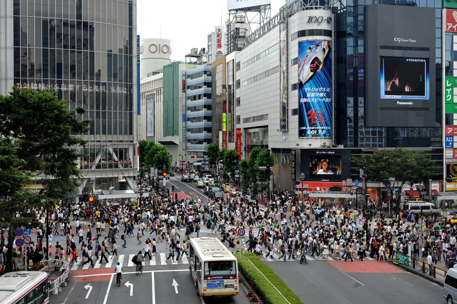 Rugby World Cup Travel Guide Tokyo crossing