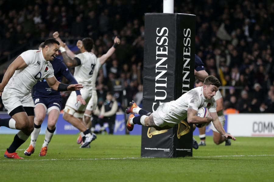 England Six Nations Scotland George Ford