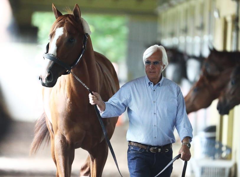 Bob Baffert trainer Justify Kentucky Derby