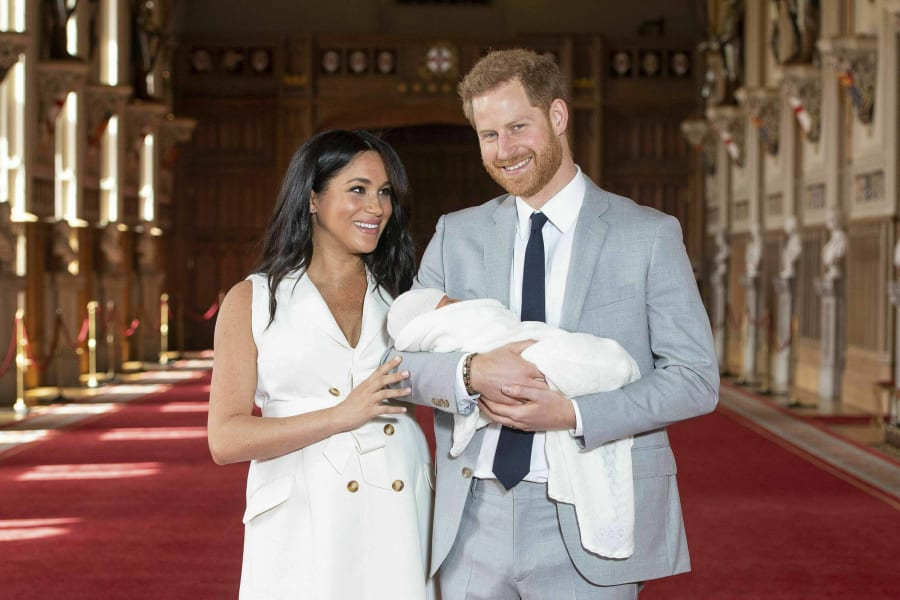 10 royal baby photos