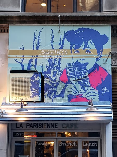 street art slavery Ibrahim