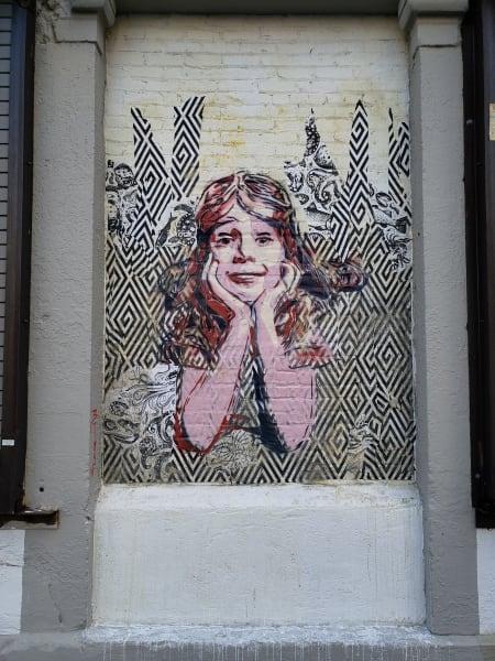 street art slavery Ariel