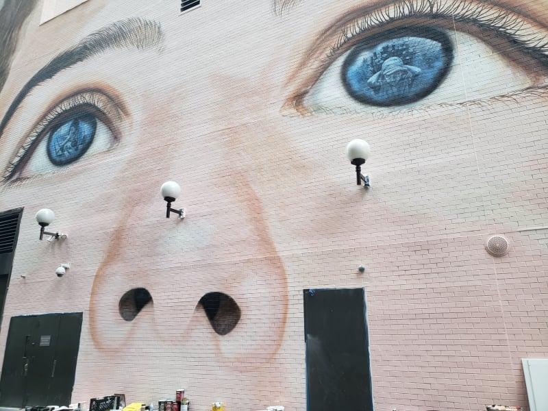 street art slavery ILO